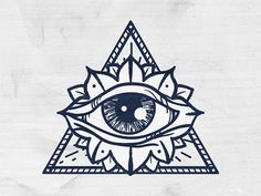 wooden triangle all seeing eye tattoo drawing Third Eye Tattoos, All Seeing Eye Tattoo, New Tattoos, Print Tattoos, Small Tattoos, 3rd Eye Tattoo, Tattoo Old School, Ojo Tattoo, Mandala Tattoo