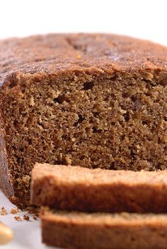 King Arthur Flour Banana Bread Recipe - doubled it, used 6 large bananas and gluten free flour mix, added half a cup of rum, half a cup of sugar, extra flavoring, and 2 tsp xanthan gum.