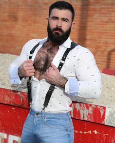 Dani (Brazil) Ungroomed tresses will make you really feel filthy and check older. Hairy Hunks, Hairy Men, Bearded Men, Hot Dads, Rugby Men, Scruffy Men, Great Beards, Beefy Men, Sexy Shirts