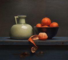 Old master inspired still life painting demo Still Life 2, Still Life Images, Still Life Drawing, Still Life Oil Painting, Be Still, Girl And Cat, Classical Realism, Old Master, Still Life Photography