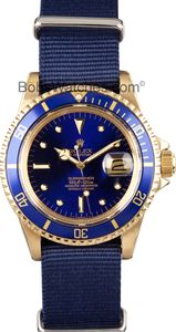 #Vintage #Rolex #Submariner 18k Gold 1680