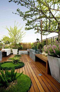 Die 103 besten Bilder von Dachterrasse | Innenhof, Garten terrasse ...