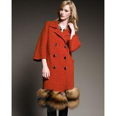 Fur-Bottom Coat