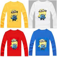 100% Cotton Kids T Shirt Children despicable me 2 minion Long Sleeve T-Shirt child Boys Girls Clothes Tshirt Tops Tees     Tag a friend who would love this!     FREE Shipping Worldwide     #BabyandMother #BabyClothing #BabyCare #BabyAccessories    Get it here ---> http://www.alikidsstore.com/products/100-cotton-kids-t-shirt-children-despicable-me-2-minion-long-sleeve-t-shirt-child-boys-girls-clothes-tshirt-tops-tees/