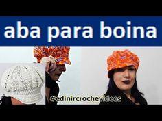 ABA DE CROCHE PARA BOINA | GORRO | TOUCA |CHAPÉU | BONÉ | DIY - BONNET CAP