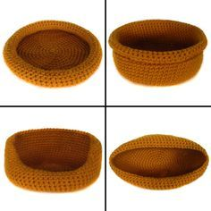 Crochet Cat Bed Pattern Free | ... Crochet Pattern: Super Versatile Cat Bed - Crochet Patterns, Tutorials