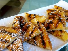 Eggless French Toast.-René