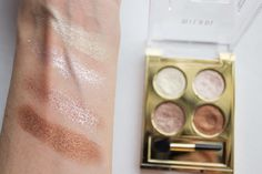 Little Blushing Birdie: What's New at the Drugstore: Milani Fierce Foil Eyeshines - 01 Milan #review #swatch
