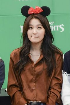 seulgi as mini mouse omg SO CUTE!!!!! || Red Velvet ♤♡◇♧