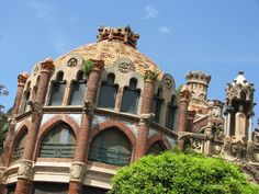 Hospital Sant Pau, barcelone, Domenech i Muntaner
