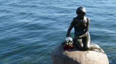 Den Lille havfrue, The Little Mermaid-Copenhagen, Denmark Little Mermaid Statue, The Little Mermaid, Outdoor Statues, Tourist Information, Night Life, Attraction, Copenhagen Denmark, Danish, Fairytale