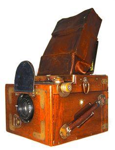 Ensign Focal Plane Rollfilm Reflex, Tropical model, Lens: Aldis Uno Anastigmat F4.5 4 inch