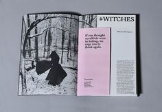 Sabat magazine explores the world of contemporary witchcraft with style http://www.itsnicethat.com/articles/sabat-modern-witchcraft-magazine-190516