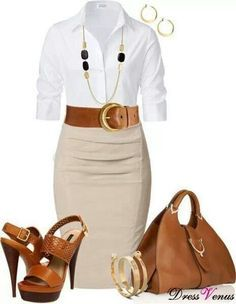 Professional Business Women's outfit