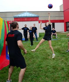 Campus Life Day 2014 - Not your traditional volleyball game!