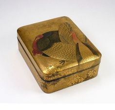 Japanese Lacquer Kobako, or Incense Box, Edo period, 18th c.