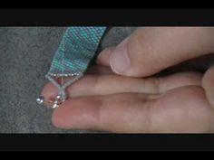 Peyote Stitch Bracelet Part 3 - YouTube | Off the Beaded Path