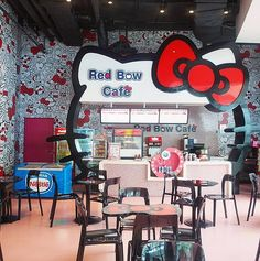 Munch on Cute Snacks at the Red Bow Cafe