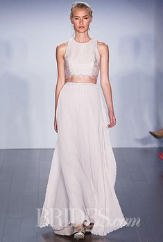 Colored Wedding Dresses from Bridal Fashion Week | Brides