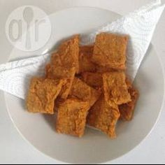 Lentil crackers @ allrecipes.co.uk