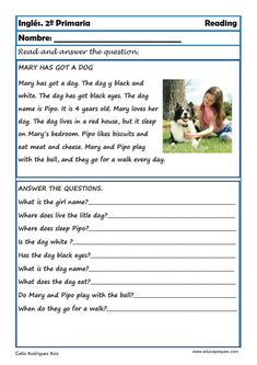 English Poems For Kids, English Conversation For Kids, Learning English For Kids, English Worksheets For Kids, First Grade Reading Comprehension, Reading Comprehension Worksheets, Grammar For Kids, Kindergarten Reading Activities, Reading For Beginners