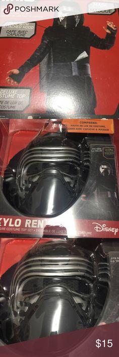 Darth Vader Costume Mask NWT Disney Costumes