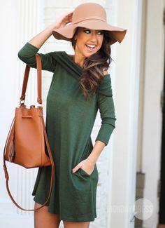 Olive You A Lot Dress | Monday Dress Boutique