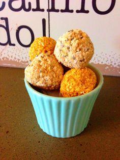 Pumpkin & protein balls + Oaty Apple bites