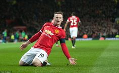 Manchester United captain Wayne Rooney cancelled out Nacho Monreal's opener by heading pas...