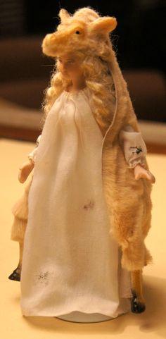 Peau d'Ane. Poupée créa Derdriu dolls