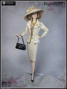 Tenue Outfit Accessoires Pour Fashion Royalty Barbie Silkstone Vintage 1211 | eBay