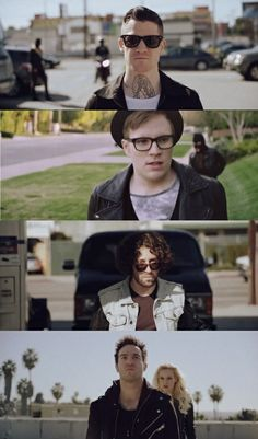 The Phoenix, before they all get kidnapped and when the YBC still makes logical sense XD