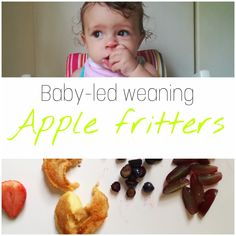 We have been doing baby-led weaning for about two months now and I absolutely love it. Most importantly Maia loves it too. Apple Fritters, Bottle Feeding, Baby Led Weaning, Healthy Snacks For Kids, Kids Meals, Breastfeeding, Birth, Pregnancy, Ali