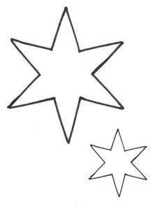 7 point star! like the one on the wall!!