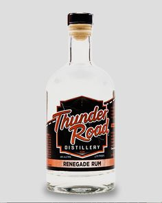 Our #ThunderRoad Renegade Rum is a 92 proof silver rum, handcrafted from molasses by our head distiller to create a dignified rum flavor with a subtle whiskey finish. True to its roots, our Thunder Road Renegade Rum is a legend in and of itself.  Stop by for a free tasting of the #WhiskeyRunnersSpirit!