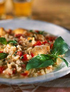 Super Dieta, Tomato Risotto, Le Diner, Kung Pao Chicken, Pasta Salad, Broccoli, Potato Salad, Rice, Meat