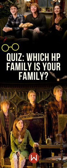 Harry Potter Quiz: Which Magical Family Is Your Family? in