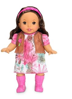 "little MOMMY™ ""Sweet As Me""   Boho chic doll"