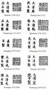 Pottery marks, Pottery and Chinese