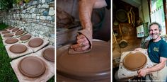 """Terracotta Pan makers of Montetiffi - """"Inside Maurizio and Rosella's Terracotta Life"""" by @lolaakinmade"""