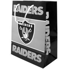 NFL Oakland Raiders Team Gift Bag by Forever Collectibles. Save 1 Off!. $4.95. Forever Collectibles offers a full line of 100 per officially licensed team merchandise. We offer a complete line of home decor, garden decor, novelty, apparel, tech accessories and seasonal items.