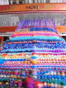 SAORI Free-Style Weaving Studio FUN