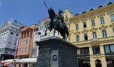 Zagreb. plaza principal