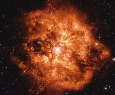 Rare, massive Wolf-Rayet stars are so tumultuous and hot that they slowly disintegrating r...