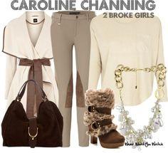 "Beth Behrs as Caroline Channing on ""2 Broke Girls"" - Shopping info!"