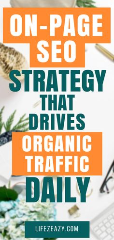 Turn awesome on page SEO techniques to boost organic traffic. Promote your online business and attract traffic from search engines. Learn how to market with SEO Marketing Services, Seo Marketing, Affiliate Marketing, Digital Marketing, Content Marketing, Marketing Ideas, Online Marketing, Seo Optimization, Search Engine Optimization