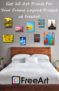 Free small size of any artwork on the site (small s&h fee applies. Limit 10 per order.). Custom-size any art to the exact size and shape you want. All images offered in paper, canvas wrap, acrylic, or metal.