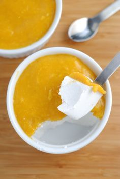 Baking, Cooking, Design and Travel | Vegan Coconut Mango Panna Cotta | http://theblenderist.com