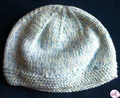 cappellino neonato Crochet For Kids, Knit Crochet, Crochet Hats, Knitted Hats, Knitting, Anna, Calzino, Cami, Homemade