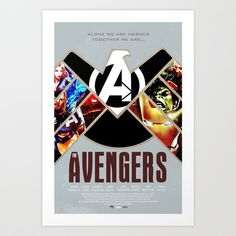 The Avengers Art Print by Duke Dastardly - $17.68